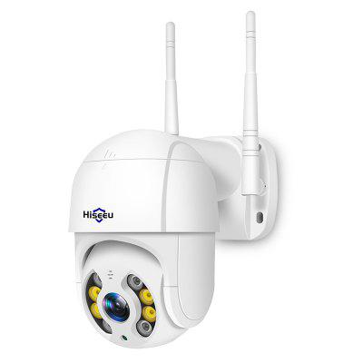 Фото - Hiseeu WHD812 PTZ IP 1080P High-speed Ball-type External Surveillance Camera Waterproof WiFi Wireless Connection with 4x Pan Tilt Digital Zoom for Network Monitoring and Security mijia 1080p home panoramic wifi ip camera