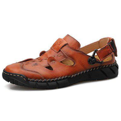 IZZUMI 802 Mens Casual Dual-use Sandals Breathable Large Size Outdoor Beach Shoes