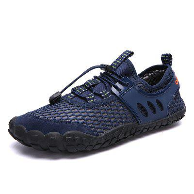 Summer Large Size Outdoor Leisure Hiking Shoes Men Upstream and Wading