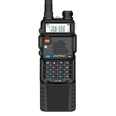 Baofeng UV-5R Upgraded Walkie Talkie VH / UHF Dual Band Two Way Radio Transceiver 3800mAh Battery