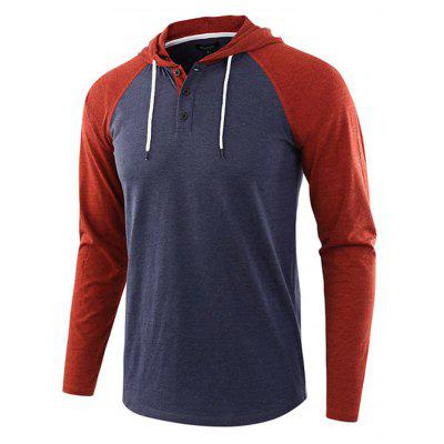 Men Long Sleeve T-shirt European and American Sweatshirt Plus Size Sweater Hoodie