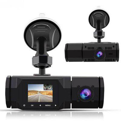 1.5 inch Car DVR Internal and External High-definition 1080P Car Driving Recorder 3 lens wdr dash camera 4 inch display hd 1080p car dvr video recorder 170 degree wide angle with water resistant rear camera