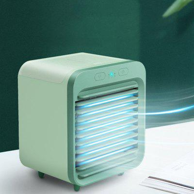 SL08 Mini Air Conditioner Cooling Desktop Water Cooling Spray USB Charging Fan Student Dormitory Office Air Cooler