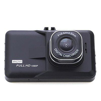 M9 Driving Recorder 3 inch IPS Screen 1080P HD Dual Lens Hidden Car DVR 3 lens wdr dash camera 4 inch display hd 1080p car dvr video recorder 170 degree wide angle with water resistant rear camera