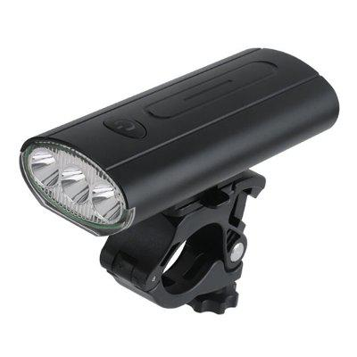 L9 Bicycle Front Light T6 Flashlight Night Riding Super Bright Lamp USB Rechargeable Strong MTB Bike Cycling Equipment