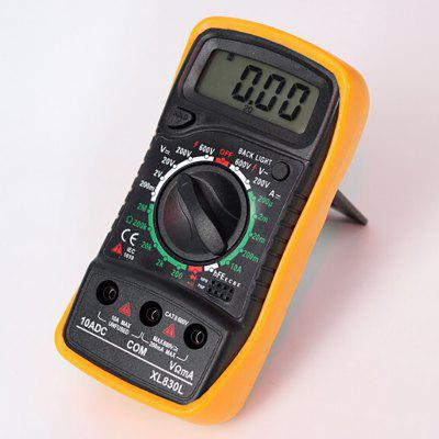 Digital Multimeter High-precision Automatic Pocket Multifunction Display Ammeter Household Small (without Battery)