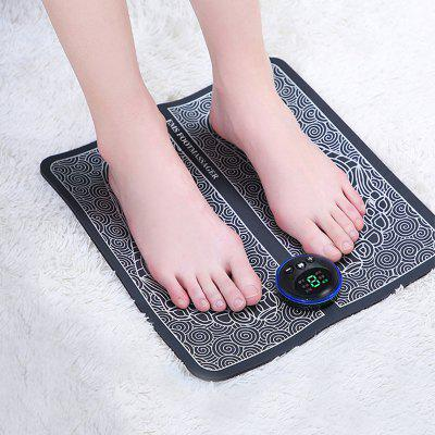 EMS Micro-electricity Smart Foot Pad Massager Cushion Massage Machine Acupoint Relaxation Leg