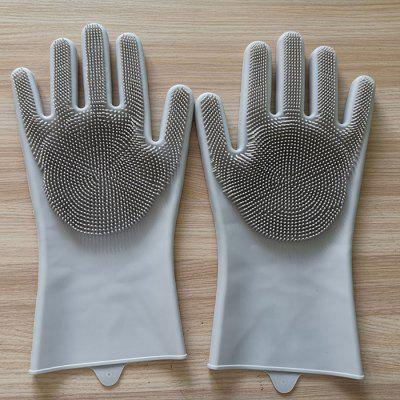 Household Silicone Cleaning Gloves
