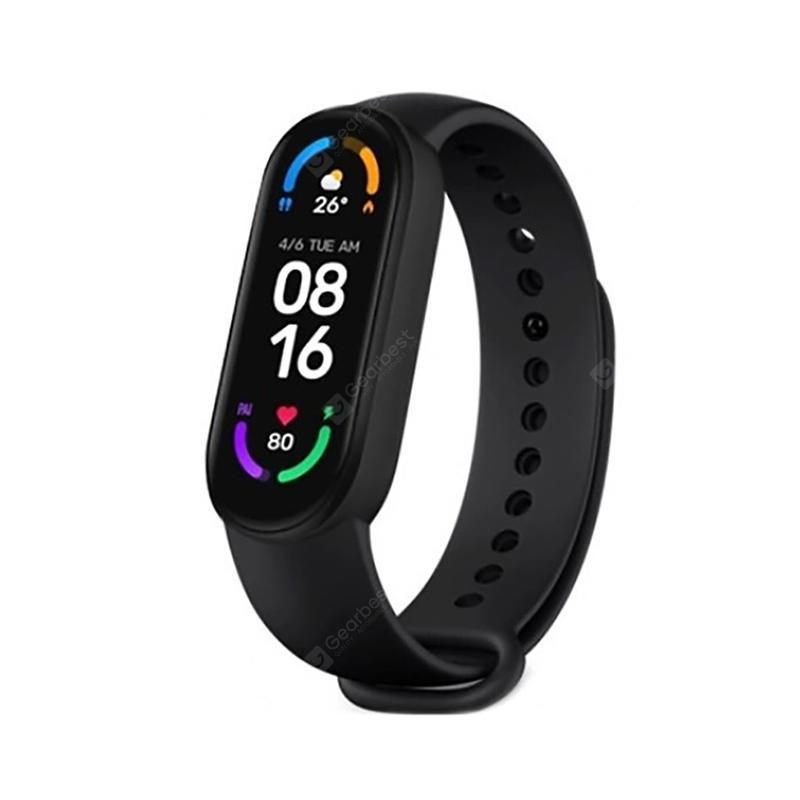 Xiaomi Mi Band 6 1.56-inch AMOLED Bluetooth 5.0 Fitness Tracker Smartwatch