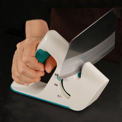 Portable Knife Sharpener Home Kitchen Multi-function Four-in-One Quick