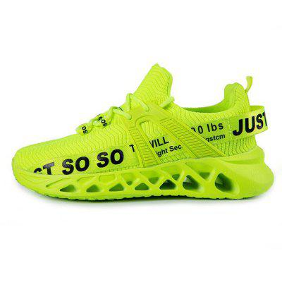 Men Breathable Air Mesh Casual Shoes Couple Sports Blade Running Footwear