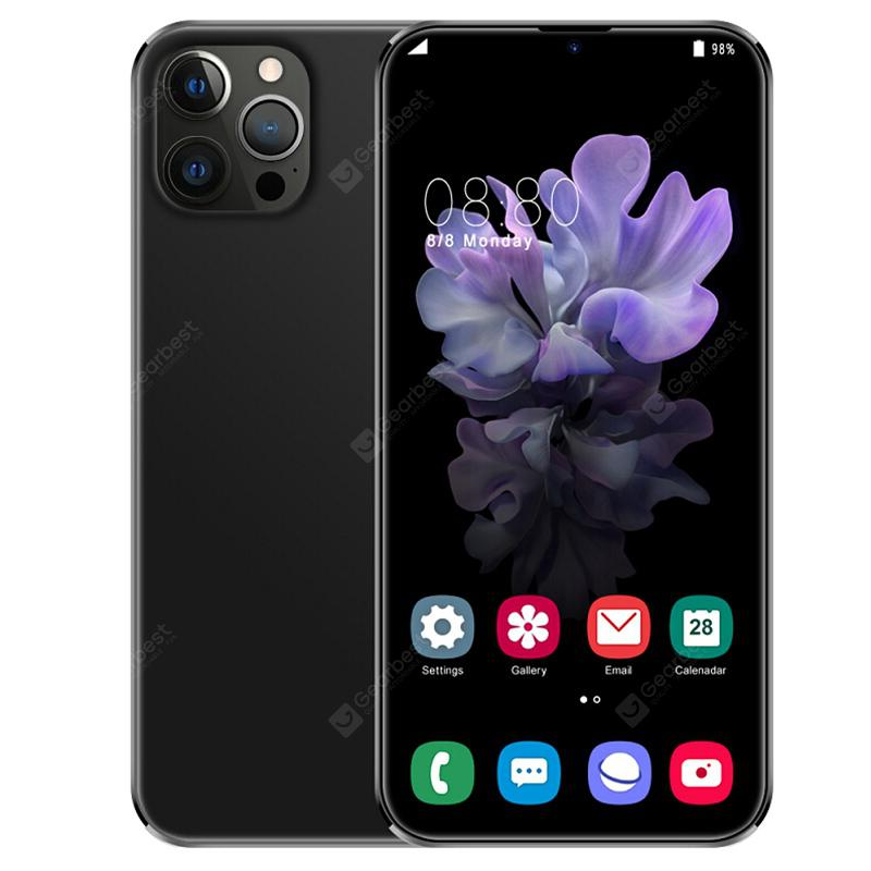 i12 Pro Max 3G Smartphone MTK 6.7 inch 4GB RAM 64GB ROM Android 9.1 8MP + 18MP Cameras 4500mAh Battery