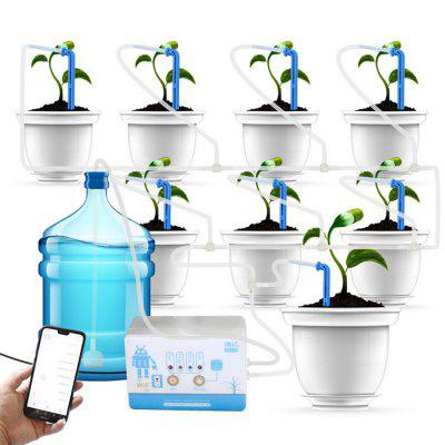 WiFi Automatic Watering Device Smart Potted Home Office Mobile Phone Remote Control Watering Timer wifi rf433 transmitter wall panel smart glass panel touch switch 1 2 3 gang remote control switch works with alexa google home