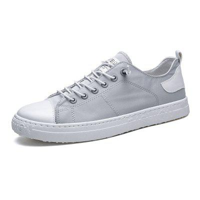 STXZ 473 Men Breathable Round Toe Canvas Casual Shoes