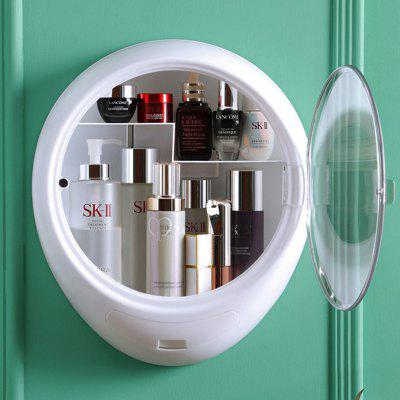Wall-mounted Cosmetics Storage Box Punch-free Bathroom Skin Care Products Wall Rack