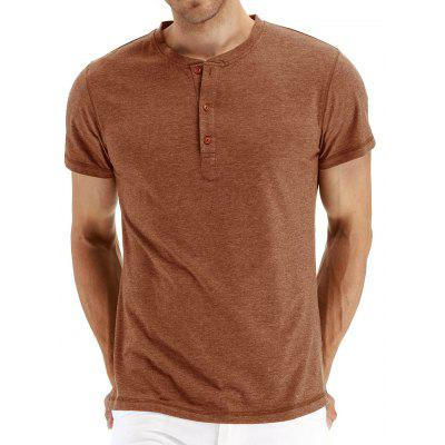Men Fashion T-shirt European and American Large Size Short-sleeved Clothing