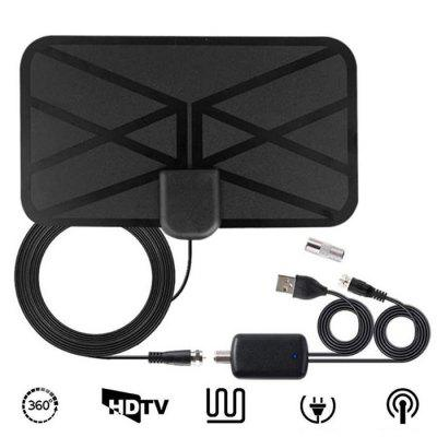 soonhua 30 miles indoor 4k hd digital tv antenna freeview hdtv antenna aerial booster satellite receiver for dvb t hdtv box 1280 Miles Indoor TV Digital Antenna with Amplifier 4K 1080P HD HDTV Digital TV Antenna Booster Amplifies Signal