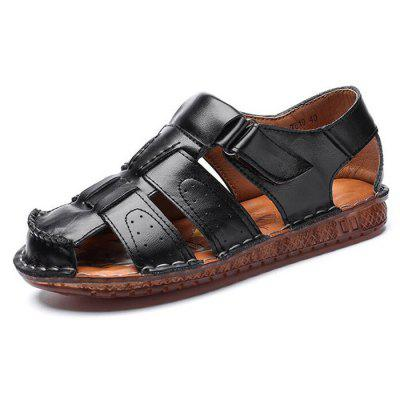 Summer Breathable Men Sandals Outdoor Beach Driving Casual Footwear Large Size Sewing Shoes