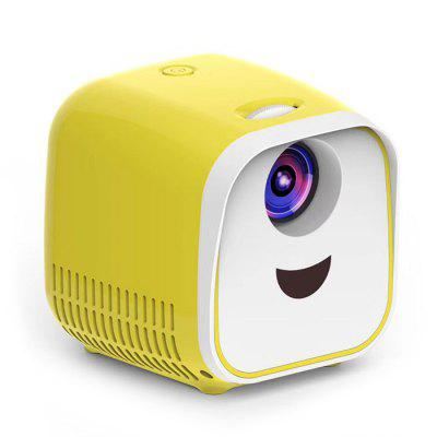 Фото - Mini Portable Projector 1000 Lumen LCD + LED for 1080P Full HD Video 3D Projector Home Theater Beamer Child Kids Gift stories for kids