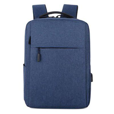 Multifunctional Casual Computer Backpack Large Capacity Student Backpack USB Rechargeable Business Bag