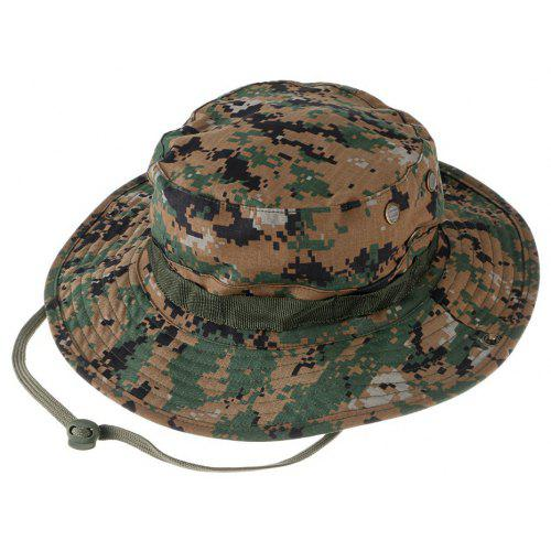 Outdoor Breathable Cotton Boonie Hat with Round Brim -  6.03 Free  Shipping ef15ad39ca7