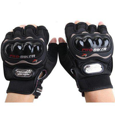 PROBIKER MCS - 04C Motorcycle Racing Half Finger Gloves