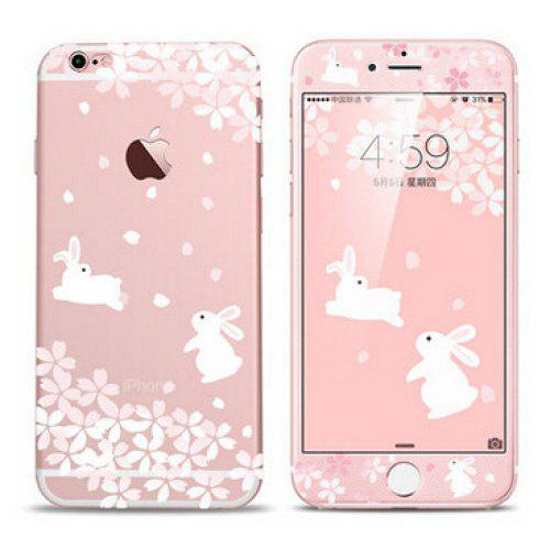 new product 3e815 5c704 Rabbit Pattern Phone Cover Case for iPhone 6 Plus / 6S Plus