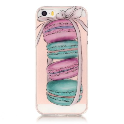 ASLING Macaron Series TPU Case for iPhone 5 / 5S / SE