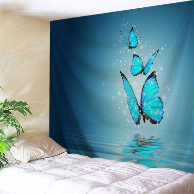 Wall Hanging Butterfly Shadow Tapestry