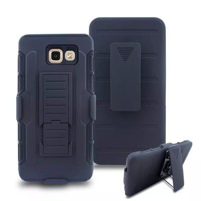 3 in 1 Shatter-proof Bracket Cover Case for Samsung Galaxy A710