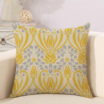 LAIMA Retro Style Geometric Design Pillow Case