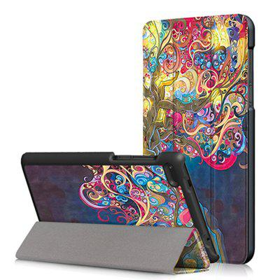 Magic Tree Tablet Case for Lenovo Tab 7 Essential TB - 7304F