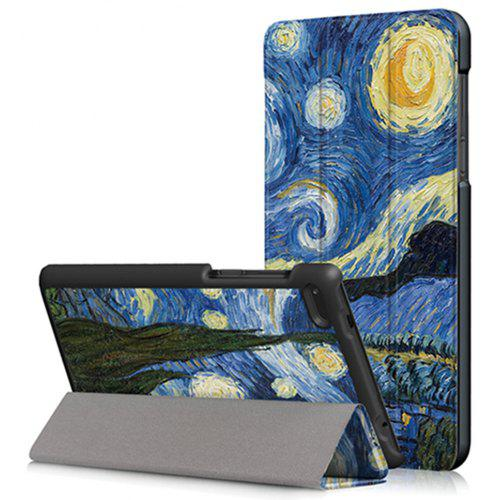 meet 4052d 1a281 Starry Sky Tablet Case for Lenovo Tab 7 Essential TB - 7304F