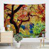 Big Tree Print Wall Hanging Tapestry - COLORMIX