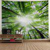 Sunshine Forest Wall Tapestry - GREEN