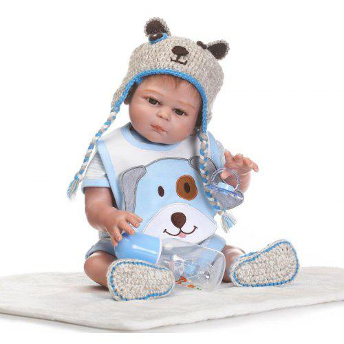 c606ffab6b926 1638 NPK Soft Silicone Baby Boy Doll Toy