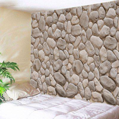 Stones Wall Print Tapestry Wall Hanging Decoration