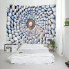 Pebbles Print Tapestry Wall Hanging Decoration - COLORMIX
