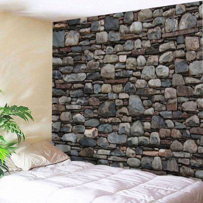 Stones Wall Print Tapestry Hanging Decoration