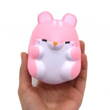 Squishy Squeeze Stress Relief Cartoon Hamster PU Spielzeug