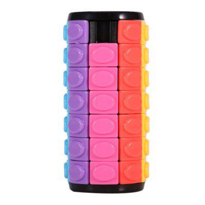 QiYi Magic Finger Cube Cylindrical Puzzle Toy Gift 7 capas