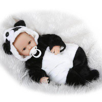 NPK Cute Bareheaded Simulation Reborn Baby Doll Toy Gift
