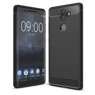 Naxtop Wire Drawing TPU Back Case for Nokia 9