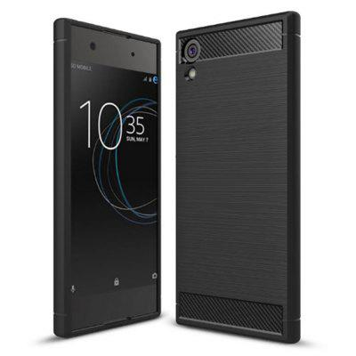 Naxtop Wire Drawing TPU Back Case voor Sony Xperia XA1 Ultra