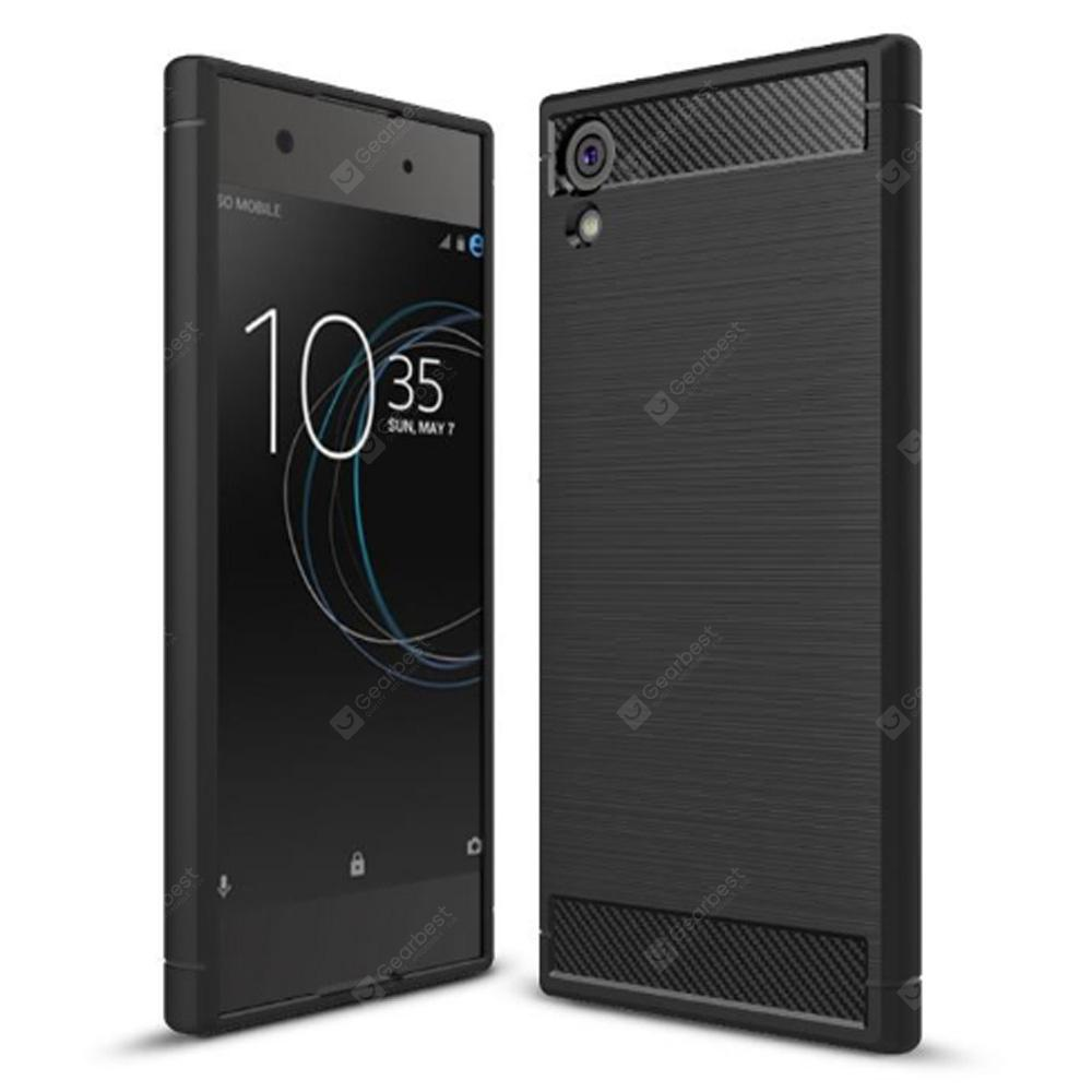 Naxtop Wire Drawing TPU Back Case for Sony Xperia XA1 Ultra
