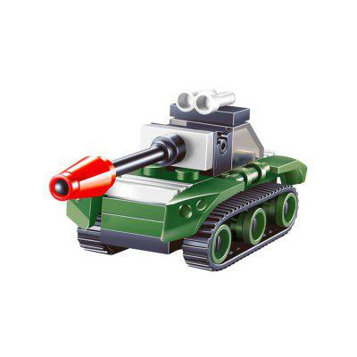 Mini Tank Model Building Blocks