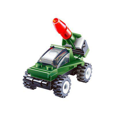 Building Blocks Mini Rocket Launcher Model Assemble Toy