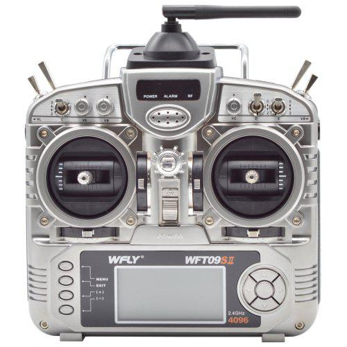 WFT09II 2.4G 9CH Transmitter with Receiver for RC Drone