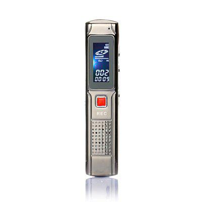 8G Portable Stereo Voice Recorder  MP3 Music Player