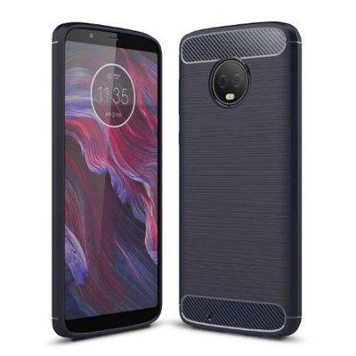 Naxtop Wire Drawing TPU Rear Case for Motorola Moto G6